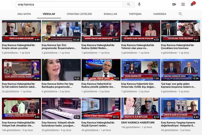 eray-karinca-karinca-avukatlik-youtube
